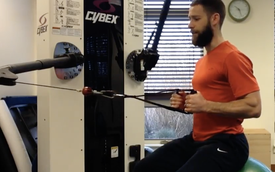 Fit Tips – The Seated (Scapular) Row