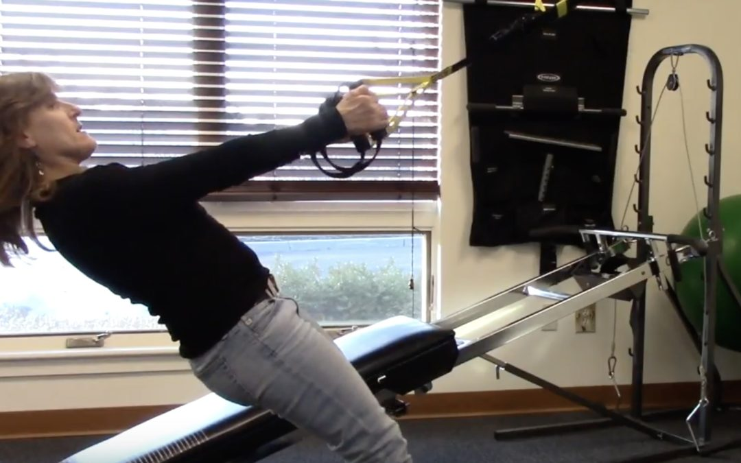 Fit Tips – The TRX Row