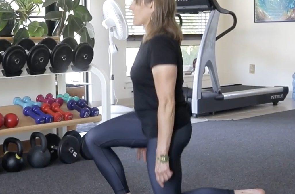 The Stationary Lunge